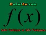 Sabit fonksiyon nedir?