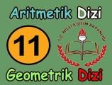 Aritmetik dizi ve geometrik dizi konu anlatımı videosu