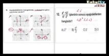 Matematik merkezi sınav soruları çözümleri 1. dönem 2013