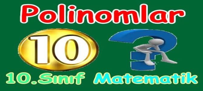 Polinomlar 10. Sınıf