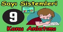 Sayı sistemleri konu anlatımı videosu