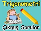 Trigonometri çıkmış soru çözümleri