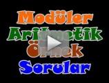 Modüler aritmetik soru çözümleri videosu