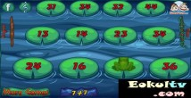 Kurbağa zıplatma oyunu (Toplama işlemi)