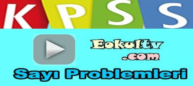 Kpss sayı problemleri çıkmış soru çözümleri