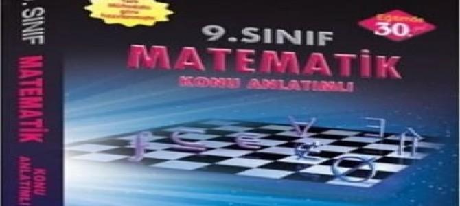 9. sınıf matematik konu anlatımlı kitap Esen Yayınları