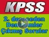 Kpss 2. dereceden denklemler çıkmış soru çözümleri