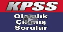 Kpss matematik olasılık soru çözümleri