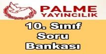 Palme yayınları 10. sınıf soru bankası kitapları