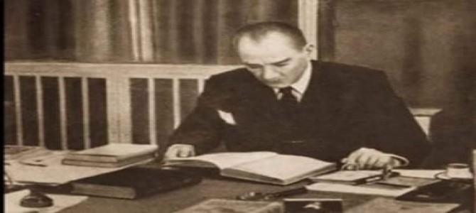 Atatürk'ün Tarih Öğrenimine Verdiği Önem