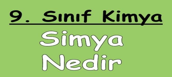 Simya Nedir?