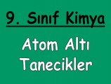 Atom Altı Tanecikler