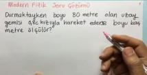 Özel Görelilik Soru Çözümleri video 12. sınıf fizik