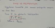 İtme ve Çizgisel Momentum video konu anlatımı 11. sınıf fizik