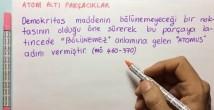 Atom Altı Parçacıklar ve Temel Özellikleri video konu anlatımı 12. sınıf fizik