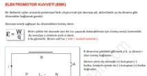 Elektromotor Kuvveti video konu anlatımı 11. sınıf fizik