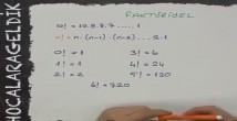 Faktöriyel Tyt Matematik