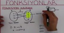 Fonksiyon Kavramı ve Gösterimi video 10. sınıf