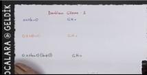 9. Sınıf Birinci Dereceden Denklemler video Hocalara Geldik