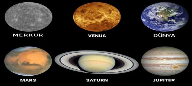 Güneş Sistemi Gezegenleri 6. Sınıf