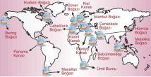 Dünyadaki Önemli Boğazlar Ve Kanallar Coğrafya Ayt