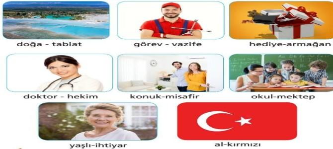Eş Anlamlı (Anlamdaş) Sözcükler 5.Sınıf Türkçe