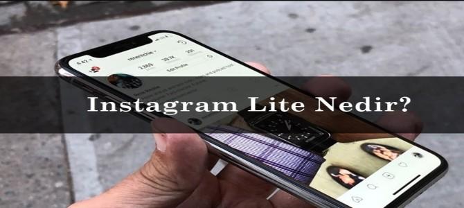 Instagram Lite Nedir?