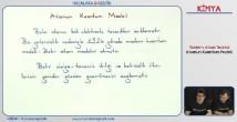 Modern Atom Teorisi konu anlatımı video 11. sınıf kimya