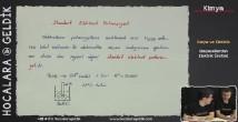 Kimyasallardan Elektrik Üretimi konu anlatımı video 12. sınıf kimya