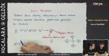 Lewis Formülleri konu anlatımı video 12. sınıf kimya
