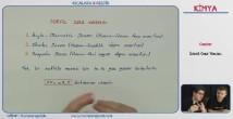 İdeal Gaz Yasası 11. sınıf kimya