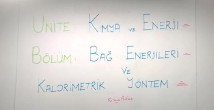 Kimyasal Tepkimelerde Enerji 11. sınıf kimya