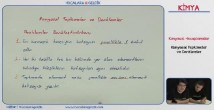 Kimyasal Tepkimeler ve Denklemler 10. Sınıf