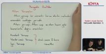 Periyodik Özellikler konu anlatımı video 11. sınıf kimya