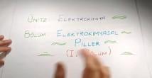 Elektrot Potansiyelleri konu anlatımı video 12. sınıf kimya