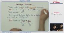 Karışımlar konu anlatımı video 10. sınıf kimya