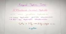 Kimyasal Tepkime Türleri 10. Sınıf