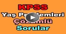 Kpss yaş problemleri çıkmış soru çözümleri
