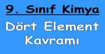 Dört Element Kavramı