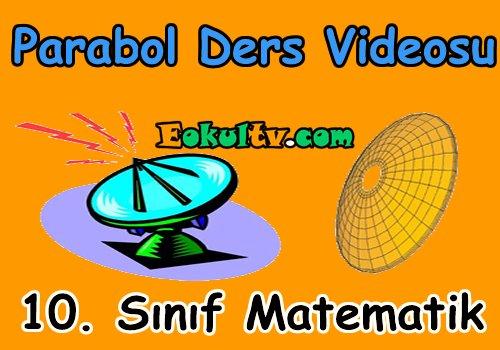 Parabol konu anlatımı videosu