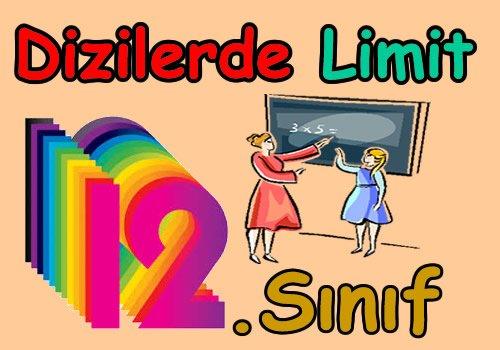 Dizilerde limit konu anlatımı videosu
