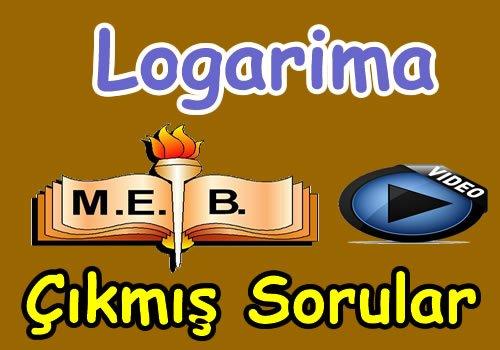 Logaritma çıkmış soru çözümleri
