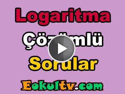 Logaritma soru çözümleri