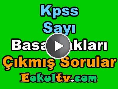 Kpss sayı basamakları çıkmış soru çözümleri