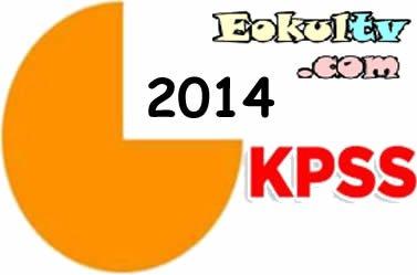 2014 Kpss sonuçları açıklandı