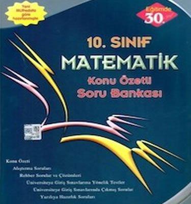 10. sınıf matematik soru bankası Esen Yayınları