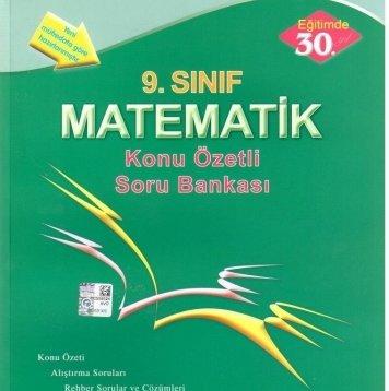 9. sınıf matematik soru bankası Esen Yayınları
