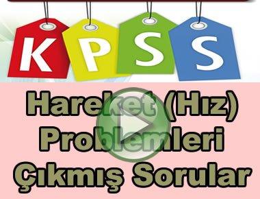 Kpss hareket problemleri çıkmış soru çözümleri videosu