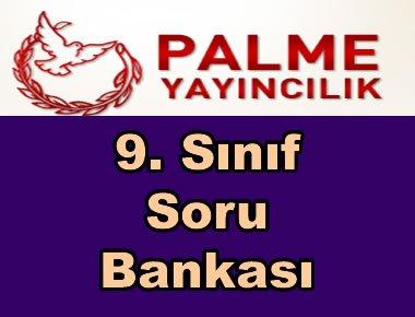 Palme yayınları 9. sınıf soru bankası kitapları