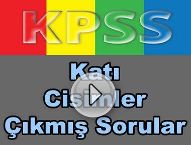 Kpss geometri katı cisimler çıkmış soru çözümleri